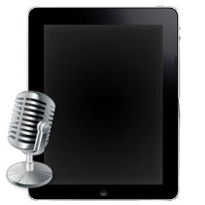 Ремонт и замена микрофона на iPad 2