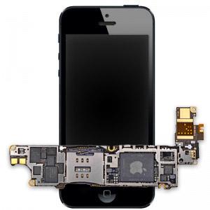 Замена материнской платы iPhone 5