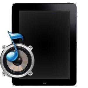 Ремонт динамика на iPad 2