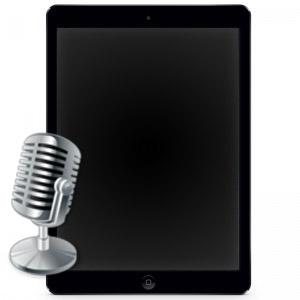 Ремонт и замена микрофона Ipad 4