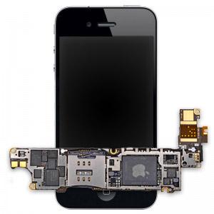 Замена материнской платы iPhone 4