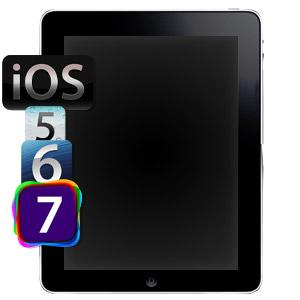 Обновление прошивки iPad 2