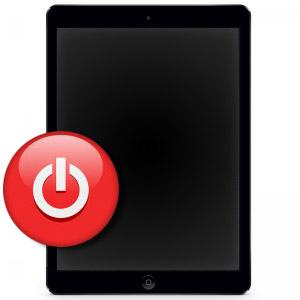 Замена кнопки Power на iPad 3