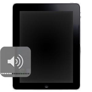 Ремонт кнопок громкости на iPad 2
