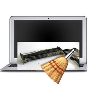 Техническая чистка MacBook Air