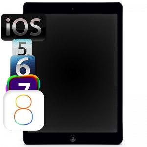 Обновление прошивки iPad Air