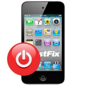 Замена кнопки Power на IPod Touch 4