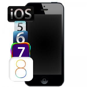Обновление прошивки IPhone 5