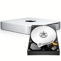 Ремонт и замена жесткого диска настольного компьютера Mac Mini Unibody