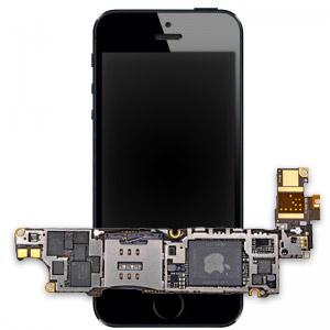 Замена материнской платы iPhone 5s