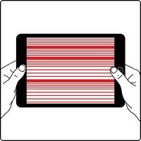 Нет изображения на iPad 2