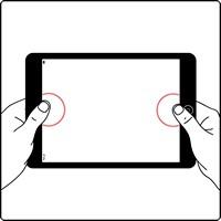 Не реагирует прикосновения iPad 4