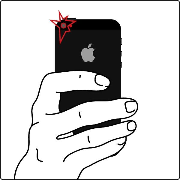 Не работает камера iPhone 7