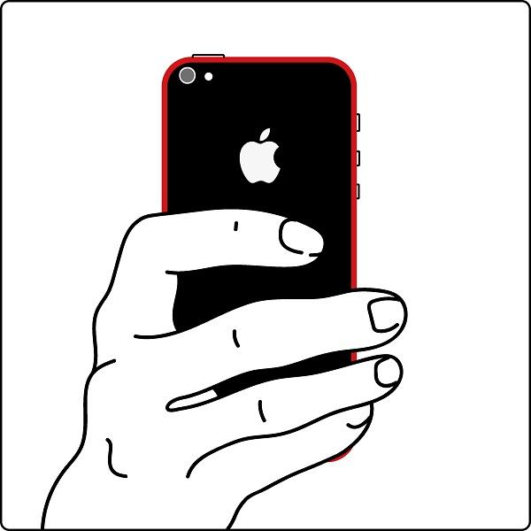 Поврежден корпус iPhone 7 plus