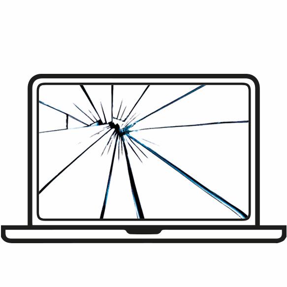 Замена стекла ноутбука